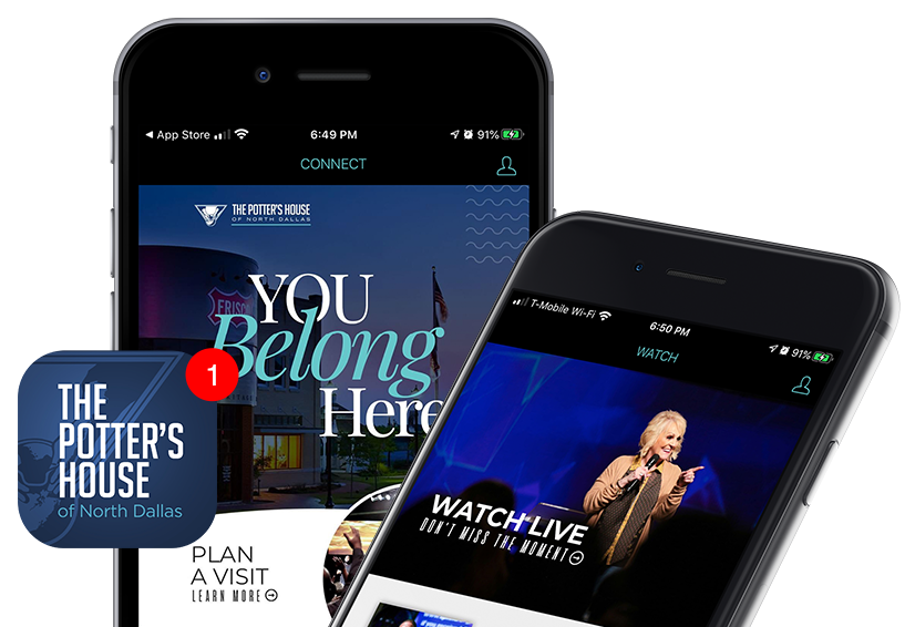 The Potter's House of North Dallas Mobile App