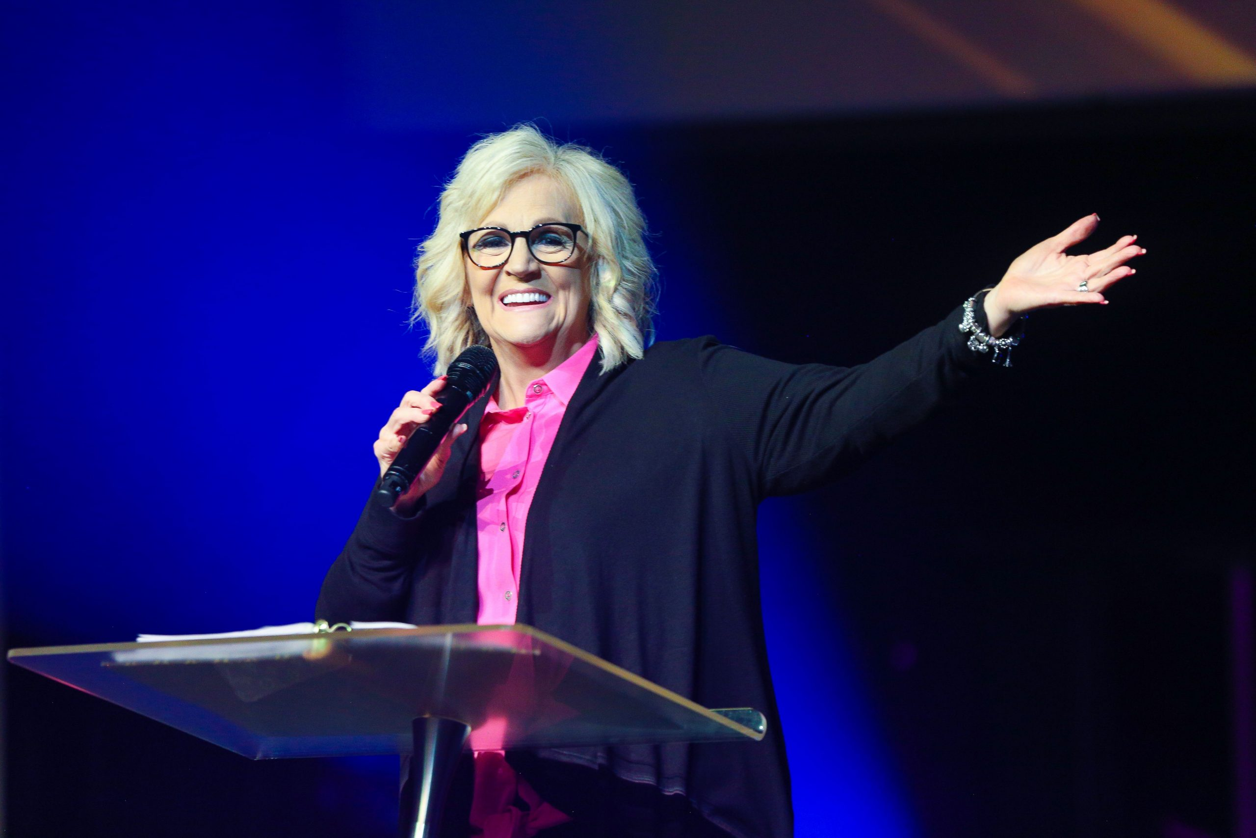 Latest sermon speaker featured image, typically Pastor Sheryl Brady or an associate Pastor of The Potter's House of North Dallas in Frisco, Texas